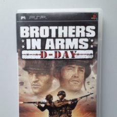 Videojuegos y Consolas: PSP BROTHERS IN ARMS D DAY JUEGO PSP COMPLETO. Lote 229529310