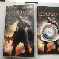 Videojogos e Consolas: GOD OF WAR GHOST OF SPARTA PSP SONY PLAYSTATION PORTABLE KREATEN MISTERY. Lote 229579645