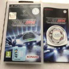 Jeux Vidéo et Consoles: PES 2014 PRO EVOLUTION SOCCER 14 PSP SONY PLAYSTATION PORTABLE KREATEN MISTERY. Lote 229595850