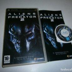 Jeux Vidéo et Consoles: ALIEN VS PREDATOR 2 PSP PAL COMPLETO. Lote 230166205