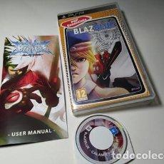 Jeux Vidéo et Consoles: BLAZBLUE CALAMITY TRIGGER ( SONY PSP - PAL - ESP). Lote 230626425