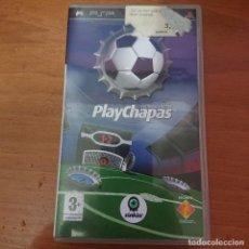 Jeux Vidéo et Consoles: PLAYCHAPAS PSP COMPLETO ESPAÑOL. Lote 230755850