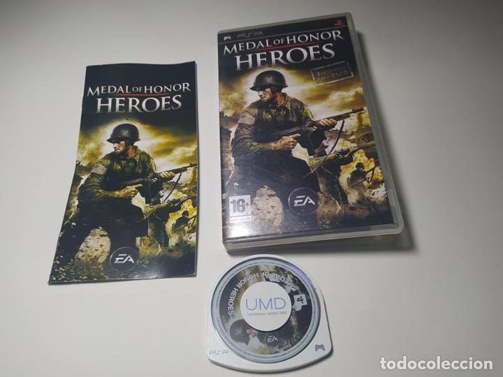 MEDAL OF HONOR HEROES ( PLAYSTATION PSP - PAL - ESP) (Juguetes - Videojuegos y Consolas - Sony - Psp)