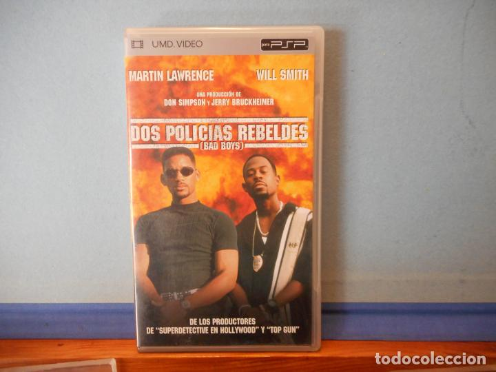 LOS POLICIAS REBELDES. WILL SMITH. MARTIN LAWRENCE. UMD VIDEO. PSP. PLAYSTATION. CD. (Juguetes - Videojuegos y Consolas - Sony - Psp)