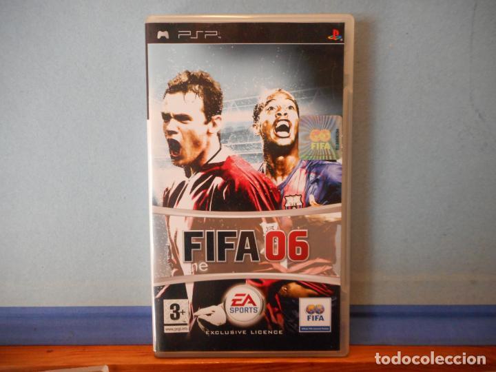 FIFA 06. PSP. PLAYSTATION. CD. (Juguetes - Videojuegos y Consolas - Sony - Psp)