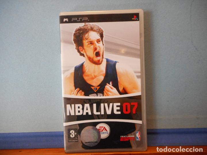 NBA LIVE 07. PSP. PLAYSTATION. CD. (Juguetes - Videojuegos y Consolas - Sony - Psp)