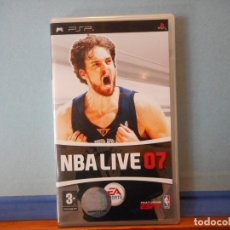 Videojuegos y Consolas: NBA LIVE 07. PSP. PLAYSTATION. CD.. Lote 231157650