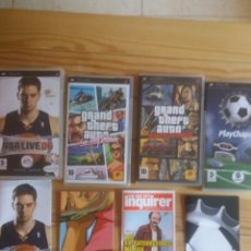 Videojuegos y Consolas: CAJAS VACÍAS JUEGOS PSP. Lote 232425875
