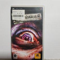 Jeux Vidéo et Consoles: PSPREF.13 MANHUNT 2 JUEGO PLAYSTATION PSP SEGUNDAMANO. Lote 233113640