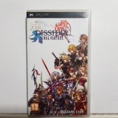 Jeux Vidéo et Consoles: PSPREF.15 DISSIDIA FINAL FANTASY JUEGO PLAYSTATION PSP SEGUNDAMANO. Lote 233114020