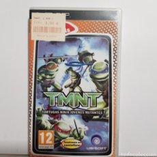 Videogiochi e Consoli: PSPREF.33 TMNT TORTUGAS NINJA JÓVENES MUTANTES JUEGO PLAYSTATION PSP SEGUNDAMANO. Lote 233117050