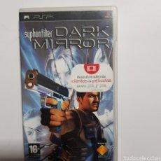 Jeux Vidéo et Consoles: PSPREF.64 SYPHONFILTER DARK MIRROR JUEGO PLAYSTATION PSP SEGUNDAMANO. Lote 233119610
