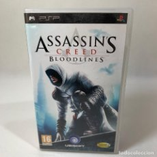 Videojuegos y Consolas: VIDEOJUEGO PLAY STATION PORTATIL - PSP - ASSASSIN'S CREED BLOODLINES + CAJA. Lote 234926755