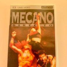 Videojuegos y Consolas: UMD VIDEO PARA PSP CONCIERTO MECANO EN DIRECTO SONY ANA TORROJA NACHO CACHO. Lote 235424805