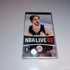 Videojuegos y Consolas: SONY PSP NBA LIVE 07. Lote 237023870