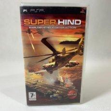 Videojuegos y Consolas: VIDEOJUEGO PLAY STATION PORTATIL - PSP - SUPER HIND - EXPLOSIVE HELICOPTER + CAJA + INSTRUCCIONES. Lote 237259070