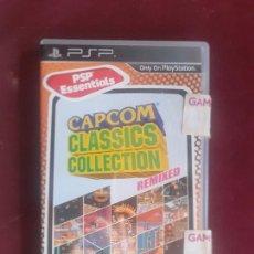 Videojogos e Consolas: CAPCOM CLASSICS COLLECTION REMIXED ( SONY PSP ). Lote 238265535
