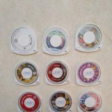 Videojuegos y Consolas: LOTE DE 11 JUEGOS PSP. Lote 239912545