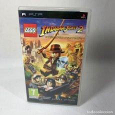 Jeux Vidéo et Consoles: VIDEOJUEGO PLAY STATION PORTATIL - PSP - LEGO INDIANA JONES 2 + CAJA + INSTRUCCIONES. Lote 240237350