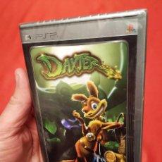 Videojuegos y Consolas: 3 JUEGOS PSP. NUEVOS. PRECINTADOS EN SU BLISTER SIN ABRIR. DAXTER - RATCHET & CLANK - FORMULA ONE.. Lote 240244935