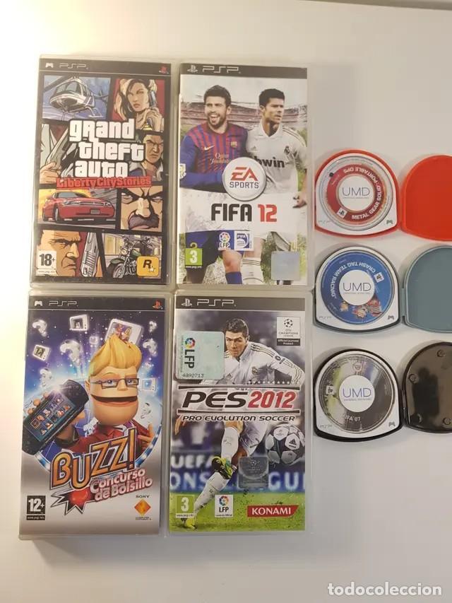 PACK JUEGOS PSP (Juguetes - Videojuegos y Consolas - Sony - Psp)