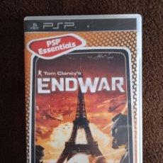 Videojuegos y Consolas: TOM CLANCY'S END WAR PSP. Lote 243845610