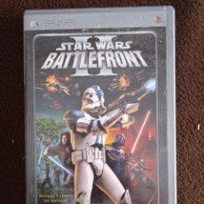 Videojuegos y Consolas: STAR WARS BATTLEFRONT II PSP. Lote 243853555