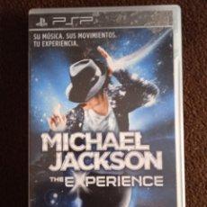 Videojuegos y Consolas: MICHAEL JACKSON THE EXPERIENCE PSP. Lote 243861010