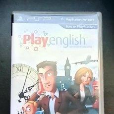 Videojuegos y Consolas: PLAY ENGLISH: DESVELA EL MISTERIO - JUEGO SONY PSP - PLAY ENGLISH - BUEN ESTADO. Lote 244413545