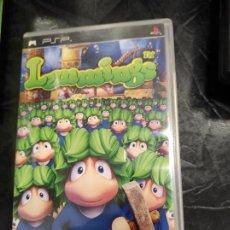 Videojuegos y Consolas: PSP - LEMMINGS , PAL ESPAÑOL , COMPLETO. Lote 244555660