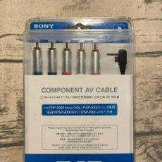 Videojuegos y Consolas: CABLE VIDEO SONY PSP-S180 COMPONENTES. Lote 245251450