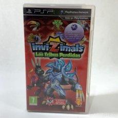 Videojuegos y Consolas: VIDEOJUEGO PLAY STATION PORTATIL - PSP - INVIZIMALS LAS TRIBUS PERDIDAS + CAJA + INSTRUCCIONES. Lote 245274790