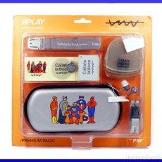 Videojuegos y Consolas: RIPLAY ACCESORIOS CALLATE LA BOCA PARA SONY PSP PREMIUM PACK - NUEVO. Lote 54116640