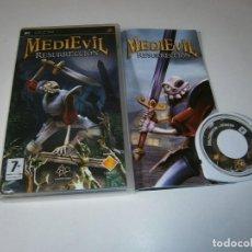 Videojuegos y Consolas: MEDIEVAL RESURRECCION PLAYSTATION PSP PAL COMPLETO. Lote 245921095