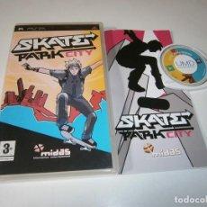 Videojuegos y Consolas: SKATE PARK CITY PLAYSTATION PSP PAL ESPAÑA COMPLETO. Lote 245921195