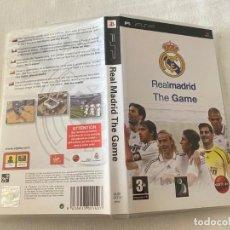 Videojuegos y Consolas: REAL MADRID THE GAME SONY PLAYSTATION PSP PAL ESPANA COMPLETO. Lote 246100640