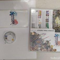 Videojuegos y Consolas: FINAL FANTASY DISSIDIA PSP SONY PAL-ESPAÑA COMPLETO. Lote 246205345