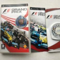 Videogiochi e Consoli: F1 GRAND PRIX FORMULA ONE PSP PLAYSTATION PORTABLE KREATEN. Lote 246227070