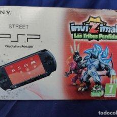 Videojuegos y Consolas: SONY STREET PSP E-1004 CB EDICIÓN INVIZIMALS NEW NUEVO. Lote 252839390