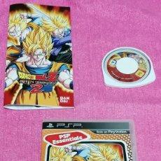 Videojuegos y Consolas: DRAGON BALL Z SHIN BUDOKAI 2: JUEGO Y MANUAL DE INSTRUCCIONES PARA PSP · PESO: 71 GRAMOS. Lote 253293945
