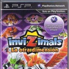 Videojuegos y Consolas: INVIZIMALS LA OTRA DIMENSIÓN PSP. Lote 253517050