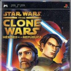 Videojuegos y Consolas: STAR WARS THE CLONE WARS HÉROES DE LA REPÚBLICA PSP. Lote 253517530