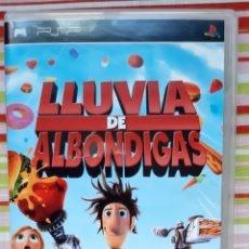 """Videojuegos y Consolas: JUEGO PSP """"LLUVIA DE ALBÓNDIGAS"""". Lote 254161385"""