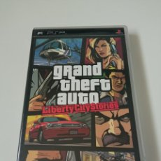 Videojuegos y Consolas: GRAND THEFT AUTO LIBERTY CITY STORIES - PSP. Lote 257466295