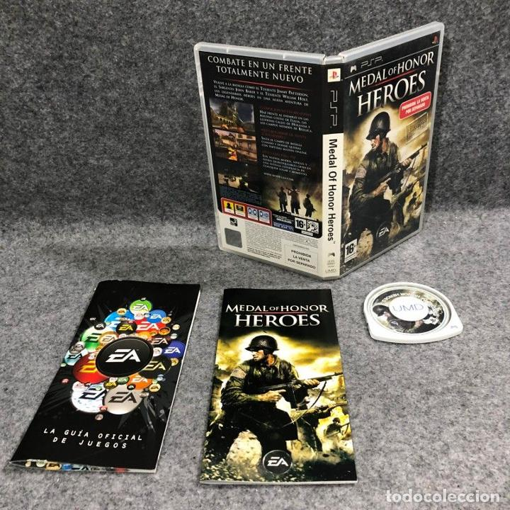 MEDAL OF HONOR HEROES SONY PSP (Juguetes - Videojuegos y Consolas - Sony - Psp)