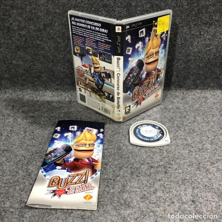 BUZZ CONCURSO DE BOLSILLO SONY PSP (Juguetes - Videojuegos y Consolas - Sony - Psp)