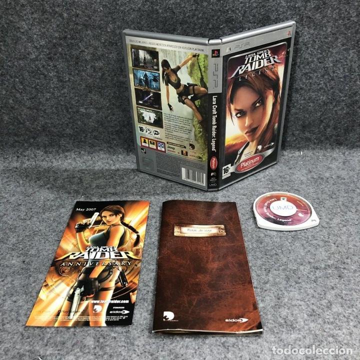 LARA CROFT TOMB RAIDER LEGEND SONY PSP (Juguetes - Videojuegos y Consolas - Sony - Psp)