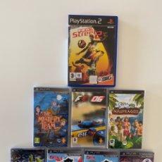 Videogiochi e Consoli: LOTE JUEGOS PSP Y PS2. Lote 257802990