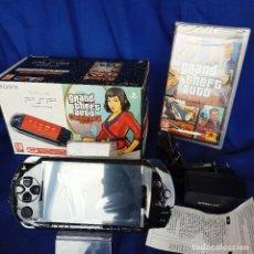 Videojuegos y Consolas: CONSOLA PSP EDICIÓN GRAND THEFT AUTO CHINATOWN WARS SLIM & LITE CONSOLA NUEVA JUEGO SELLADO. Lote 257950460