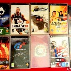 Videojuegos y Consolas: LOTE DE 10 JUEGOS PSP. Lote 260846615